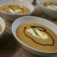 Chestnut and Apple Soup