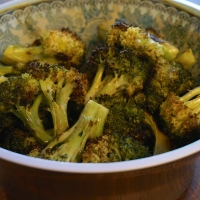 Crispy Broccoli with Black Vinegar