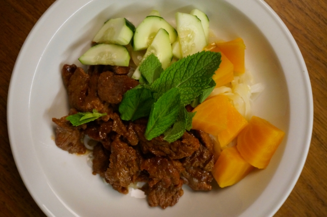 Korean Beef Stir Fry – Better with Lemon