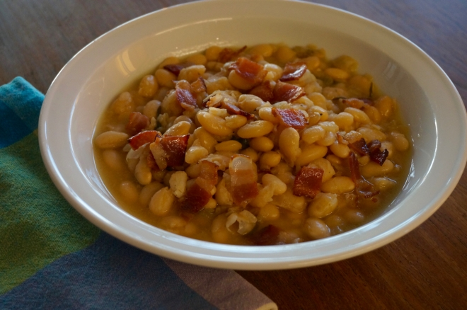 Beer-Baked White Beans with Bacon and Rosemary – Slightly adapted ...